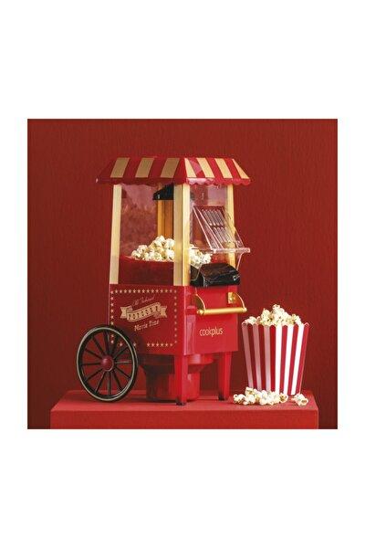 Kırmızı Mısır Patlatma Pop Corn Makinesi
