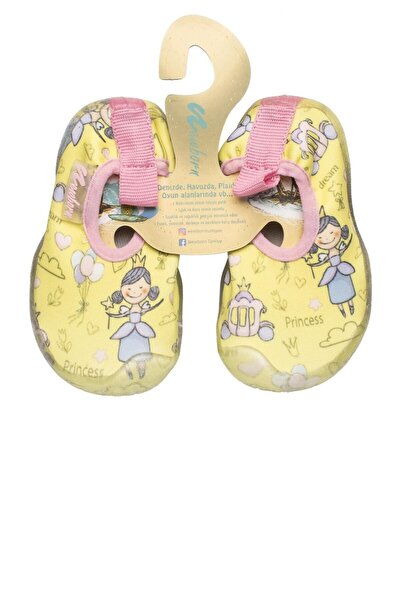 NAQ2010 AQUA PRINCESS Sarı Kız Çocuk Deniz Ayakkabısı 100446169