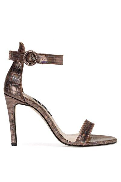 LINDIT Bronz Kadın Topuklu Sandalet 100663655