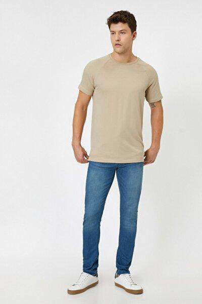 Erkek Petrol Jeans 0YAM43580MD