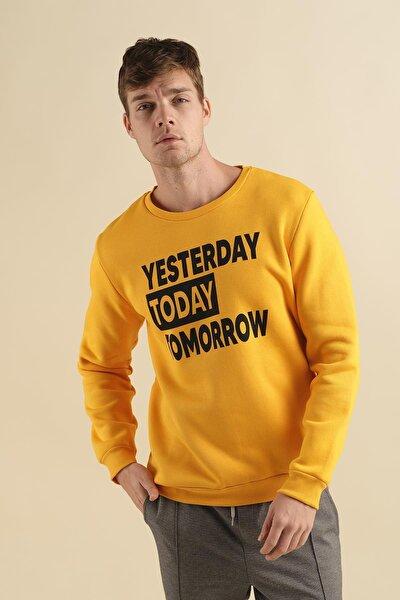 Coll City Yesterday Slim Fit Pamuklu Sweatshirt