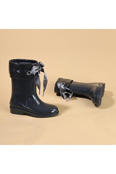 W10114 Campera Charol Kız Çocuk Su Geçirmez Yağmur Kar Çizmesi