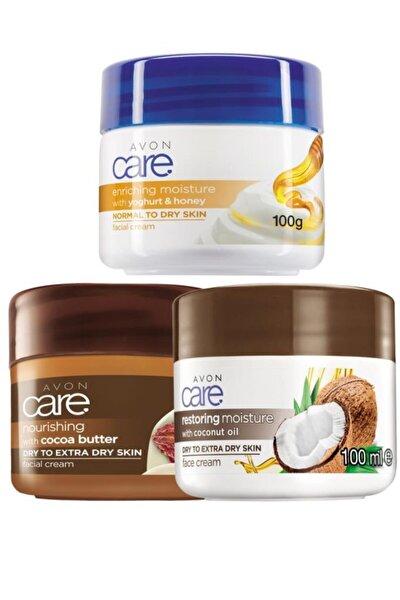 Care Kakao Yoğurt Ve Bal Ve Hindistan Cevizi Yağı Yüz Kremi Paketi