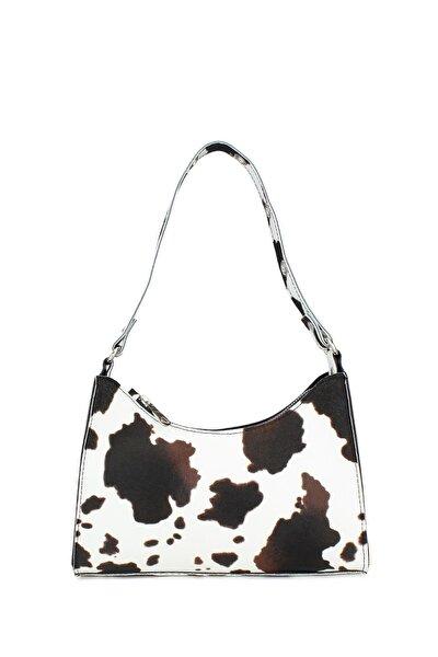 Kadın Kahverengi Baguette Çanta 195