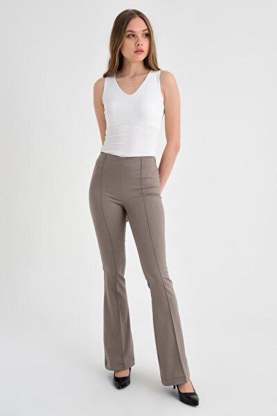 Kadın Bej Pantolon 40005