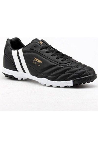 Erkek Siyah Halı Saha Futbol Ayakkabısı 13258 36-44