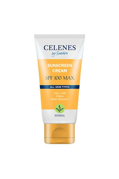 Celenes Herbal Güneş Koruma Kremi 100 Max Spf 50ml / Tüm Cilt Tipleri