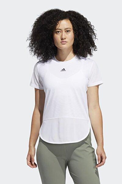 Kadın Beyaz Günlük T-shirt A.rdy Lvl 3 Tee Gn7316