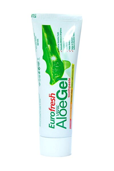Eurofresh Aloe Veralı Misvaklı Beyazlatcı Diş Macunu 112 Gr