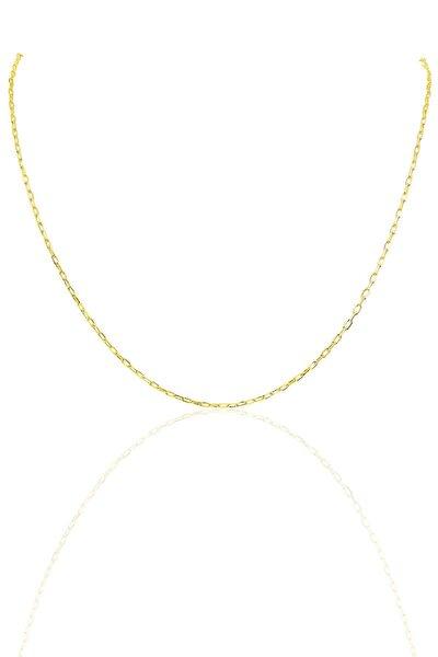 Gümüş Altın Rengi  60 Cm Figaro Zincir Sgtl10103Gold