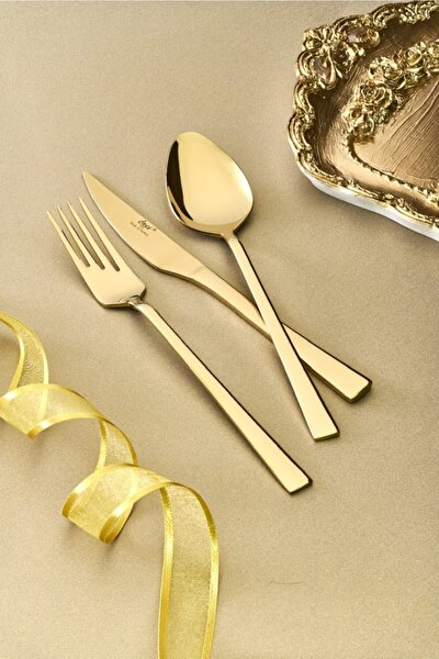 Gold 36 Parça Çatal-kaşık-bıçak Seti