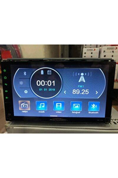 Dc-716 Usb/bluetooth/mirorrlink/sd Kkart 7ınc Double Teyp-tablet Ekranlı