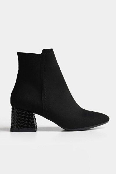 Siyah Yaya Kadın Bot & Çizme