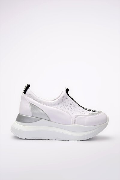 Beyaz Kadın Sneaker 01AYY201190A902