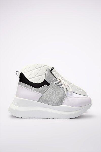 Beyaz Kadın Sneaker 01AYY201180A900