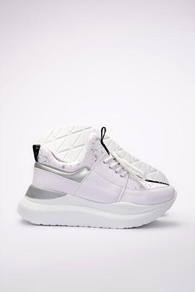 Beyaz Kadın Sneaker 01AYY201160A902