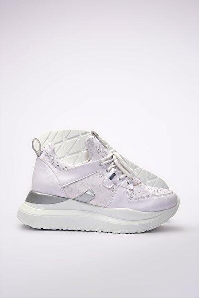 Beyaz Kadın Sneaker 01AYY201170A902