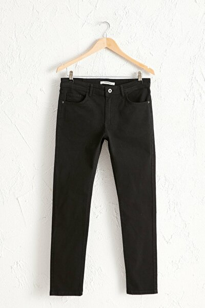 Erkek Yeni Siyah Chino Pantolon 0W3935Z8