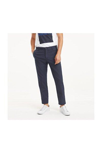 Erkek Mavi Pantolon Cotton Stretch  Slım Fıt Pants TT0TT05406
