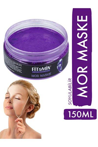 Soyulabilir Mor Maske Collagen Q10 Karamürver 150ml