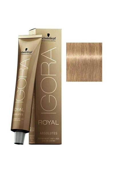 Sarı Doğal Bej Igora Royal Absolutes Saç Boyası 9-40 60 ml 4045787282573