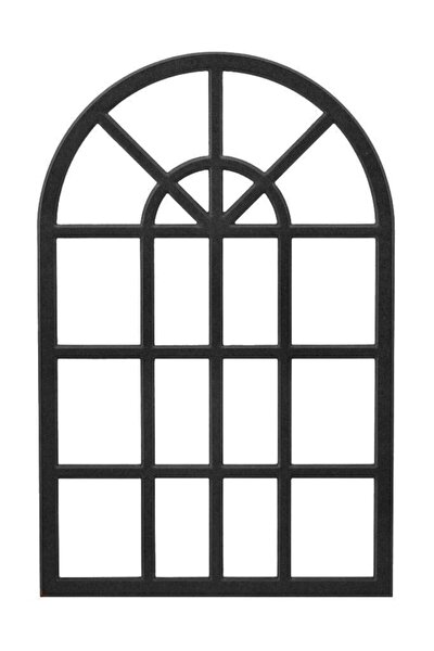 Dekoratif Duvar Çerçeve Siyah Mdf Çerçeve Aynasız 60x100cm