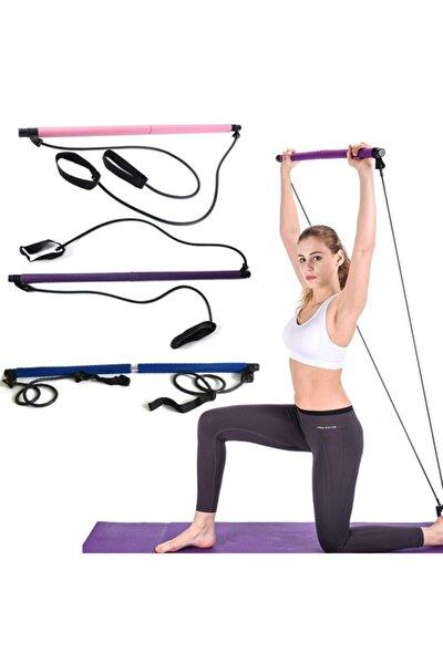 Portable Studio Pilates Jimnastik Egzersiz Çubuğu