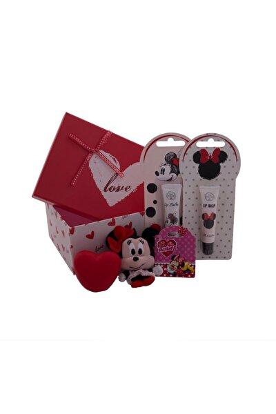 Love Kutuda Minnie Mouse Anahtarlık Seti