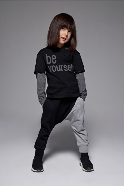 Unisex Çocuk Be Yourself T-shirt