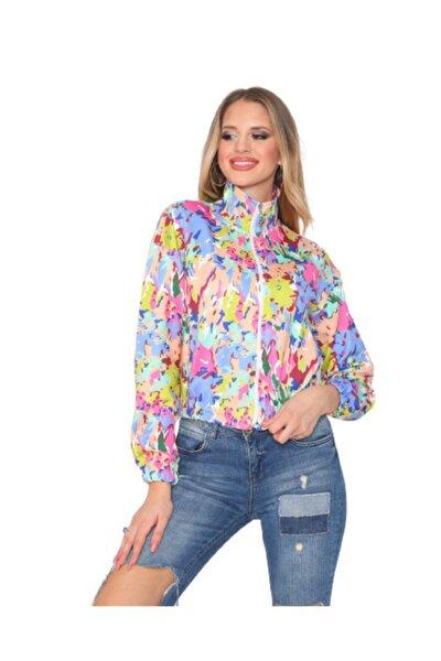Kadın Fermuarlı Sweatshirt