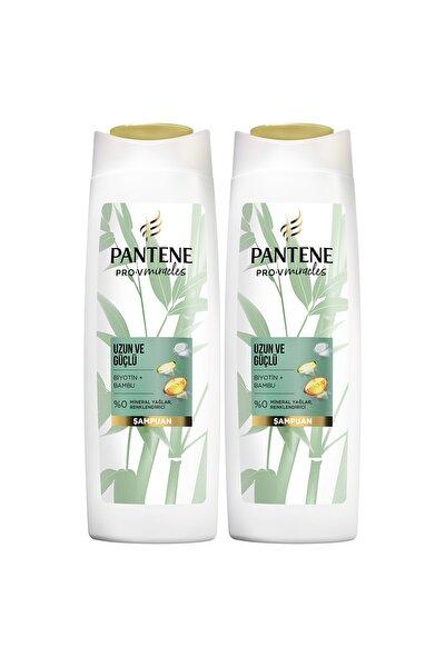 Uzun ve Güçlü Bambu ve Biyotinli Şampuan 400 ml x 2 Adet