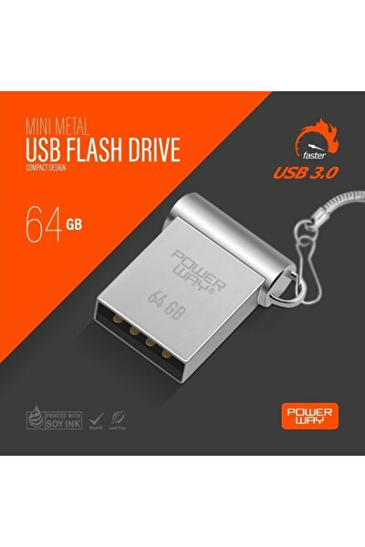 64gb Usb 3.0 Mini Flash Bellek