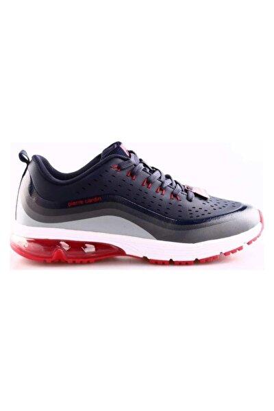 Erkek Lacivert Kırmızı Spor Ayakkabı Pcs-81502