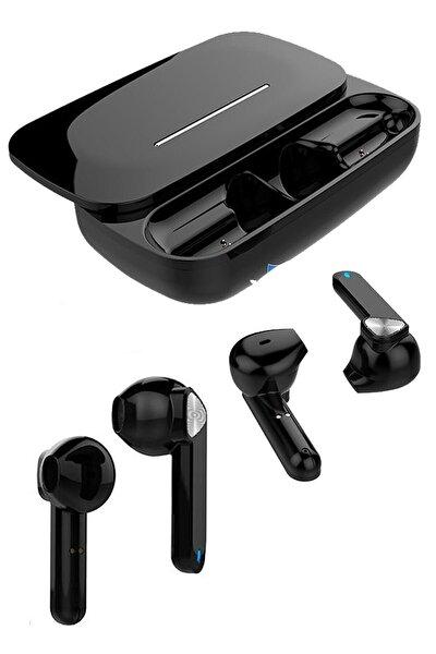 Siyah Bluetooth Kulaklık Xiaomi Redmi Note 8 Pro Uyumlu Tws Kulaklık