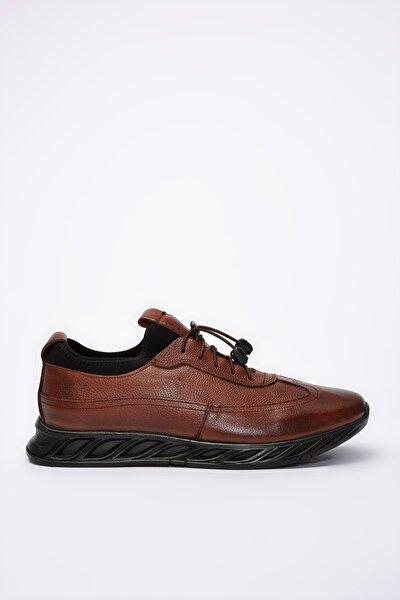 Hakiki Deri Taba Erkek Sneaker 02AYY195120A370