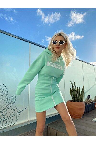 Kadın Yeşil Everything Elbise