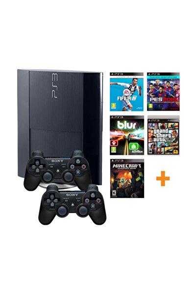 Playstation 3 500gb Yenilenmiş Oyun Konsolu 37 Adet Digital Oyunlu