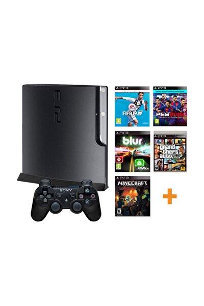 Playstation 3 Yenilenmiş Oyun Konsolu + 10 Adet Digital Oyun