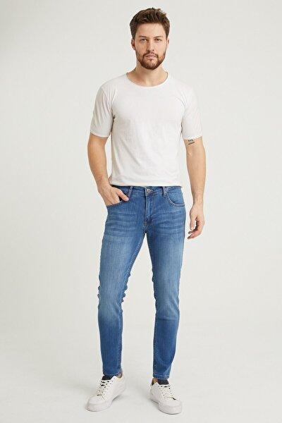 Erkek Mavi Denım Pantolon