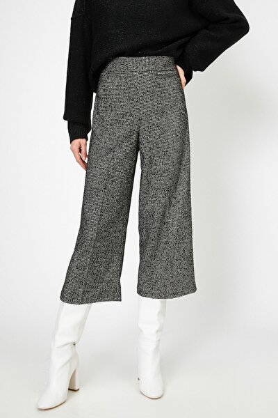Kadın Siyah Pantolon 0KAK42883UW