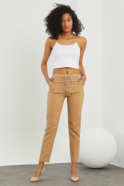 Kadın Açık Kahverengi Pantolon