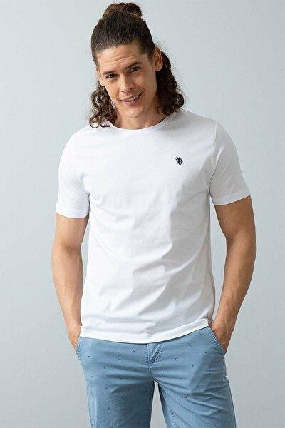 Us Polo Assn. Erkek Bisiklet Yaka Basic Tshirt
