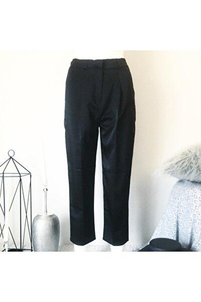 Kadın Boyfrend Saten Pantolon