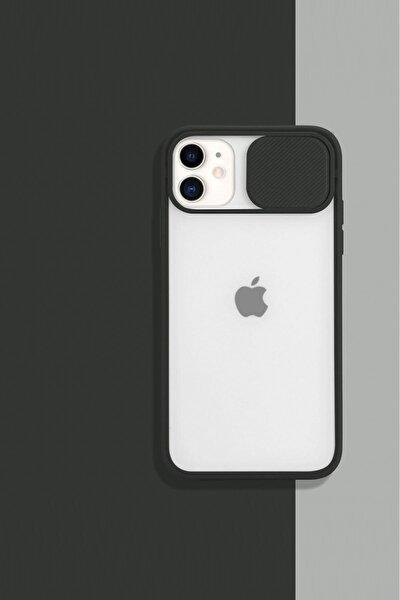 Iphone11 Kamera Koruyuculu Siyah Kılıf