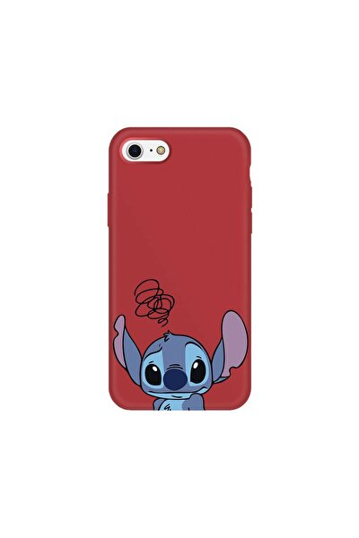Iphone 8 Kırmızı Lansman Stich Telefon Kılıfı