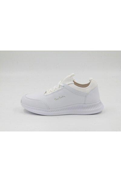Erkek Beyaz 3320 - 19 Beyaz Spor Ayakkabı