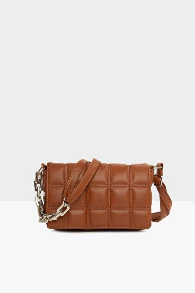Kadın Taba Nakışlı Kapaklı Mini Çanta Lln8787