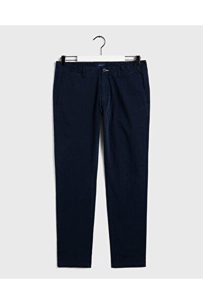 Erkek Gri Slim Chino Pantolon Pantolon