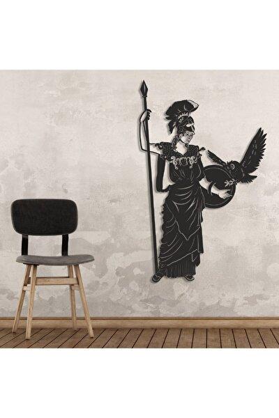Goddess Athena Metal Tablo