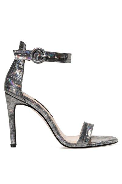 LINDIT Gümüş Kadın Topuklu Sandalet 100663656